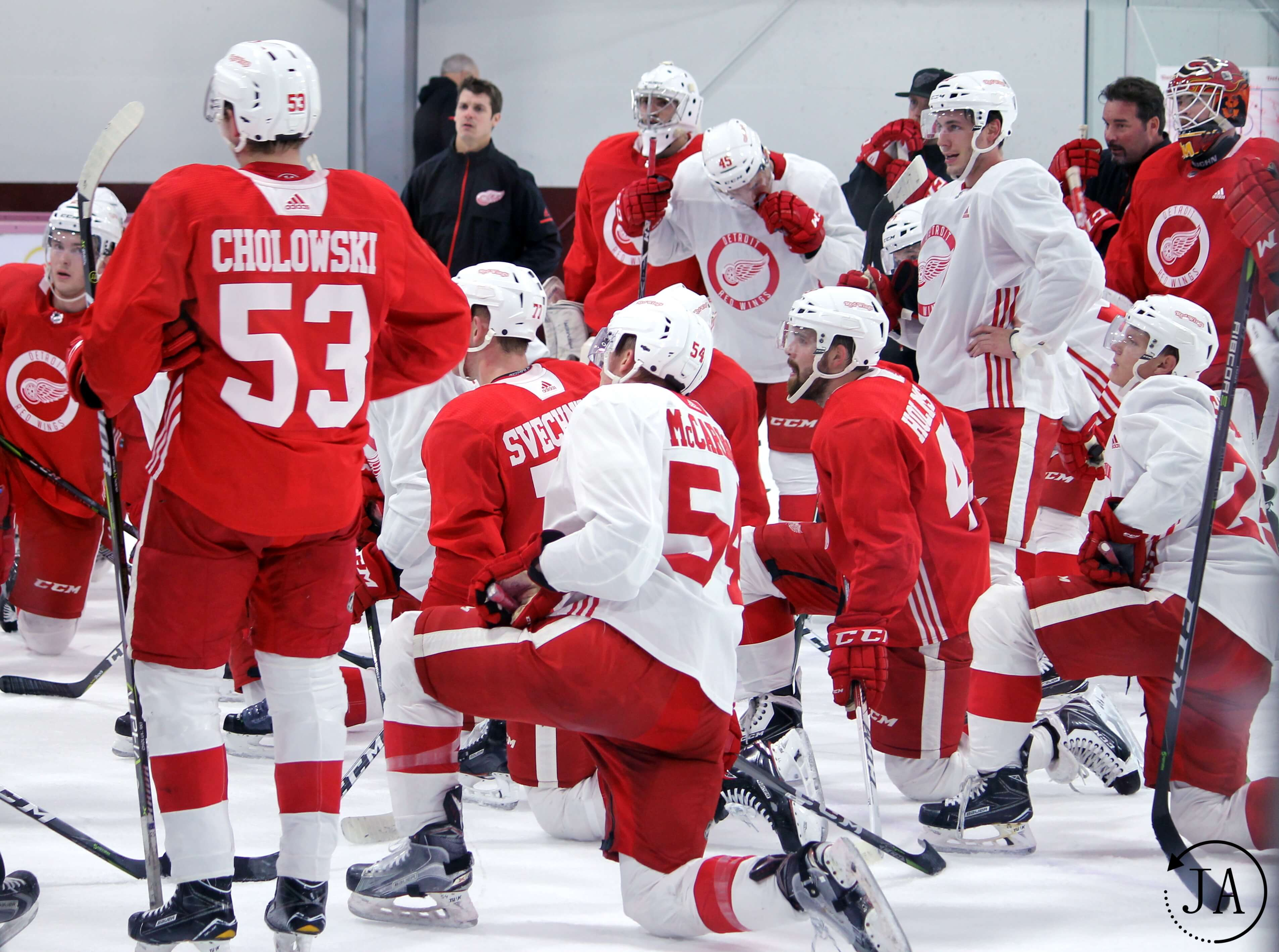 cholowski, prospect tournament, traverse city, detroit red wings
