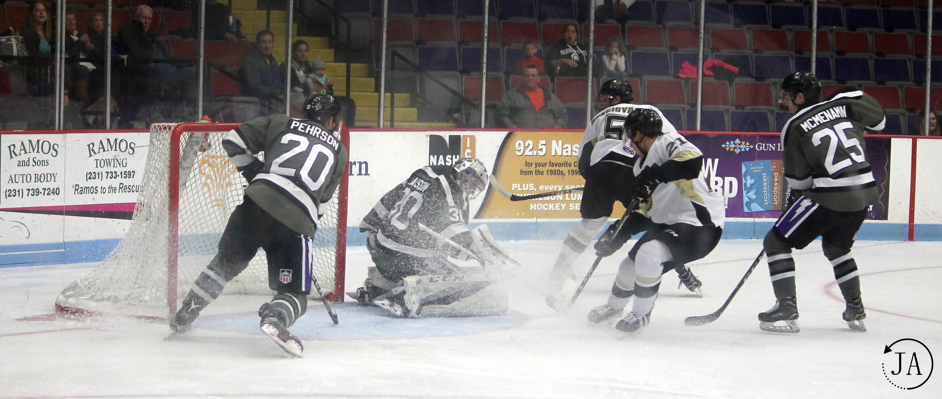 The Tri-City Challenge | Lumberjacks Denied Home Ice Win