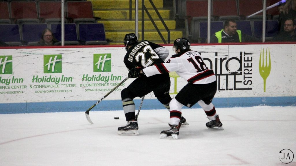 egor afanasyev, lumberjacks hockey, junior hockey, muskegon lumberjacks, ushl