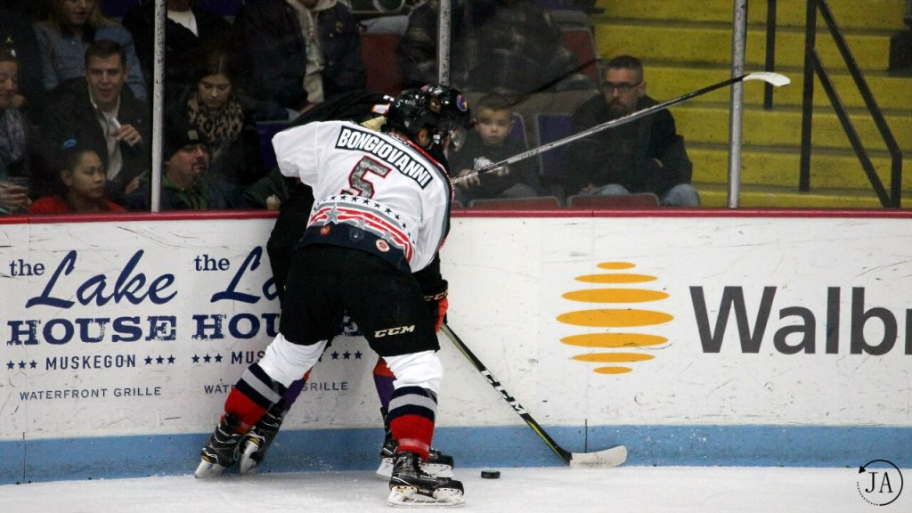 ushl, junior hockey, muskegon lumberjacks, lumberjacks hockey, wyatt bongiovanni