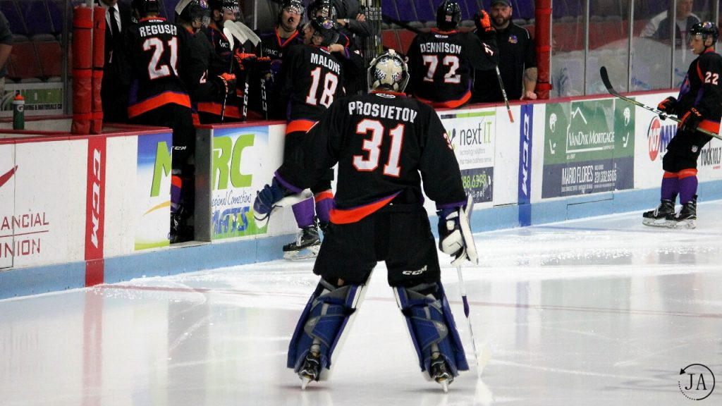 ivan prosvetov, ushl, junior hockey, muskegon lumberjacks, lumberjacks hockey, youngstown phantoms