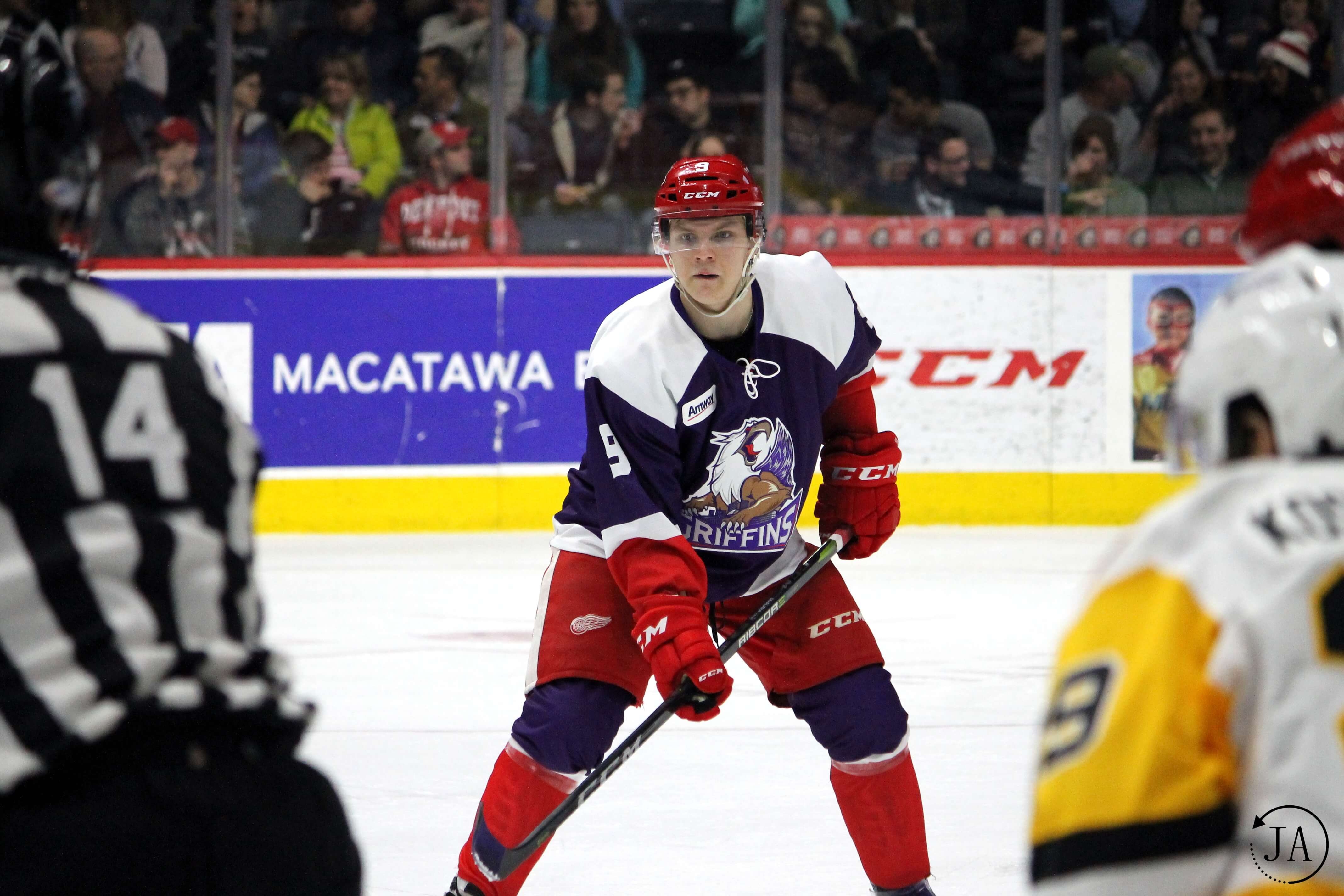 Vili Saarijarvi | Griffins Defenseman Interview | WingsNation Contribution