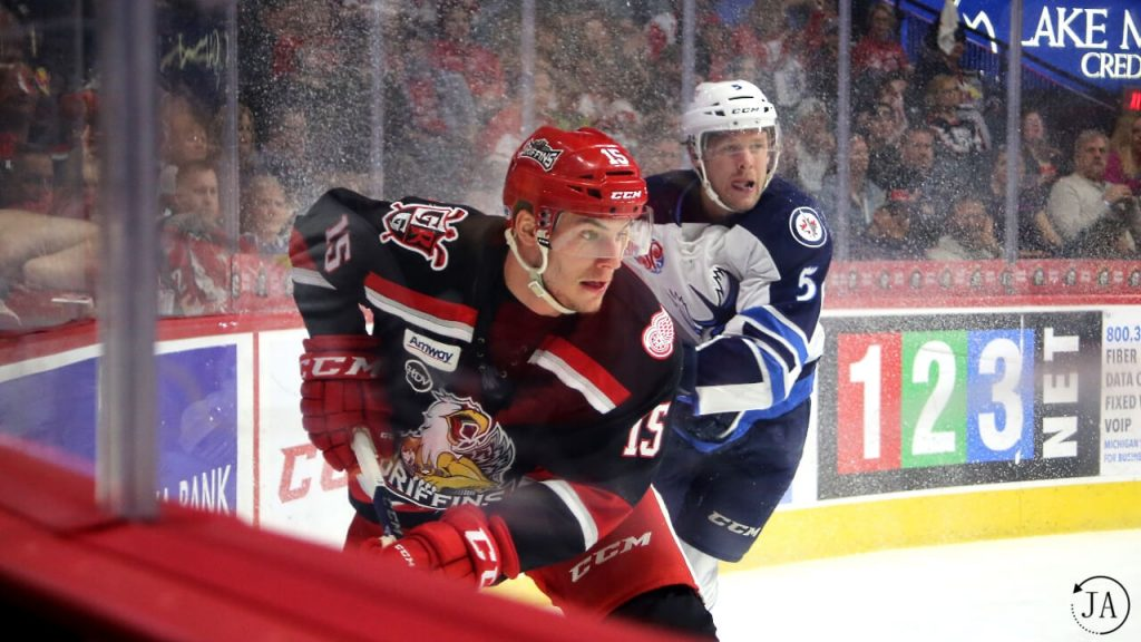 articles image, Turner Elson, Grand Rapids Griffins