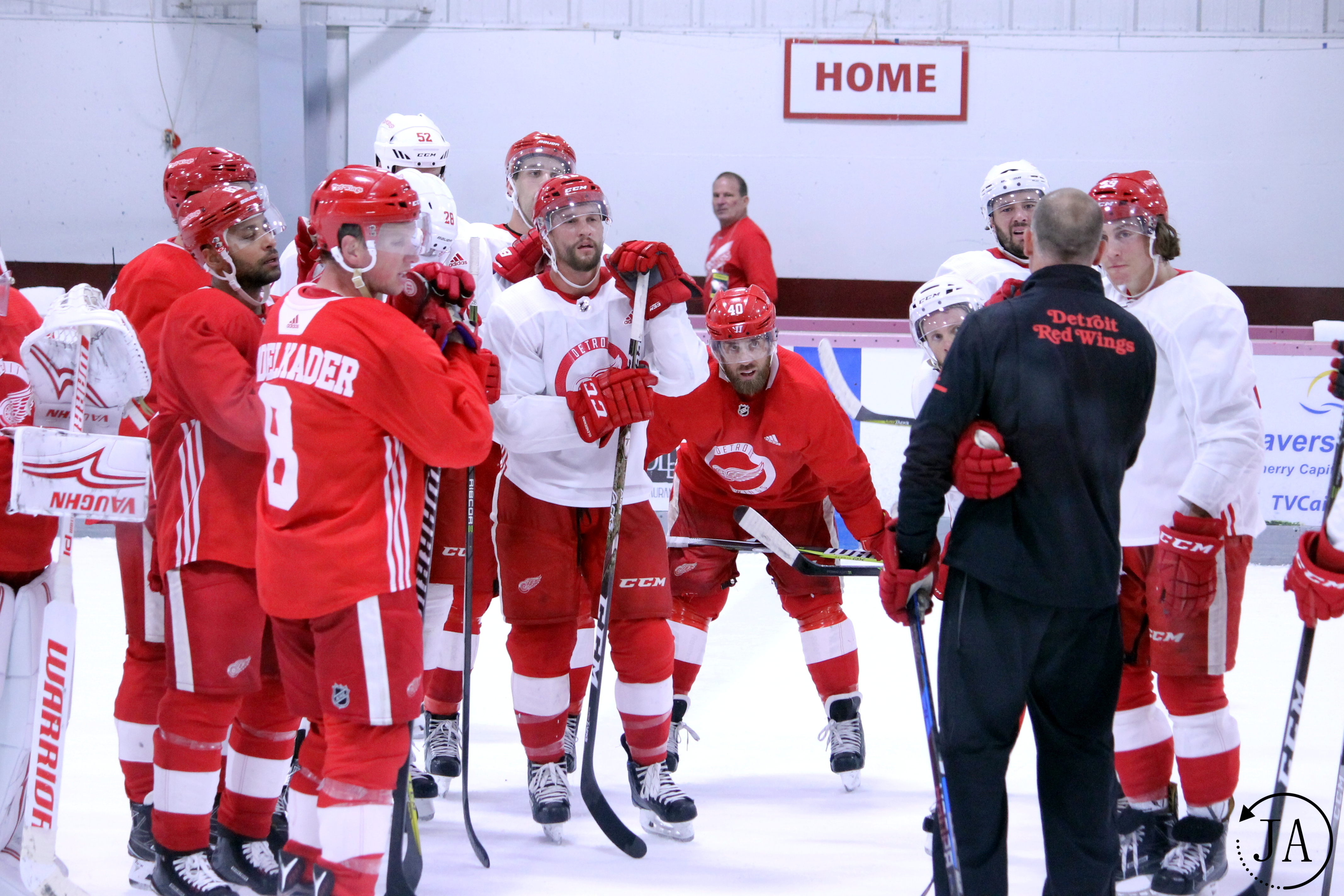 Red Wings Training Camp Alumni and Celebrity Game