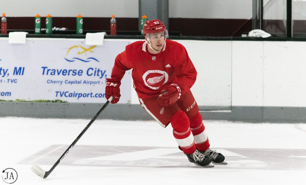 Turner Elson, Detroit Red Wings, Training Camp