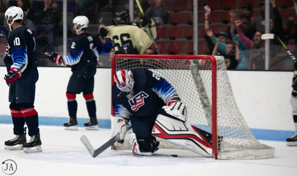 Cameron Rowe, Team USA, USHL