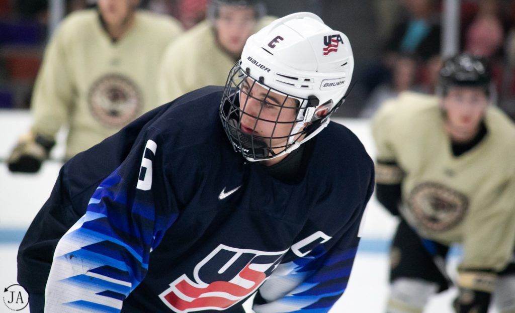 Jack Hughes, USHL, Team USA, NHL Draft, 2019 Draft