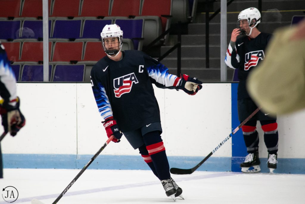 Jack Hughes, Team USA, USHL