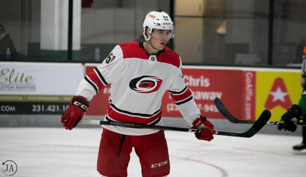janne kuokkanen, carolina hurricanes, nhl prospect tournament, nhl, hockey, ice hockey