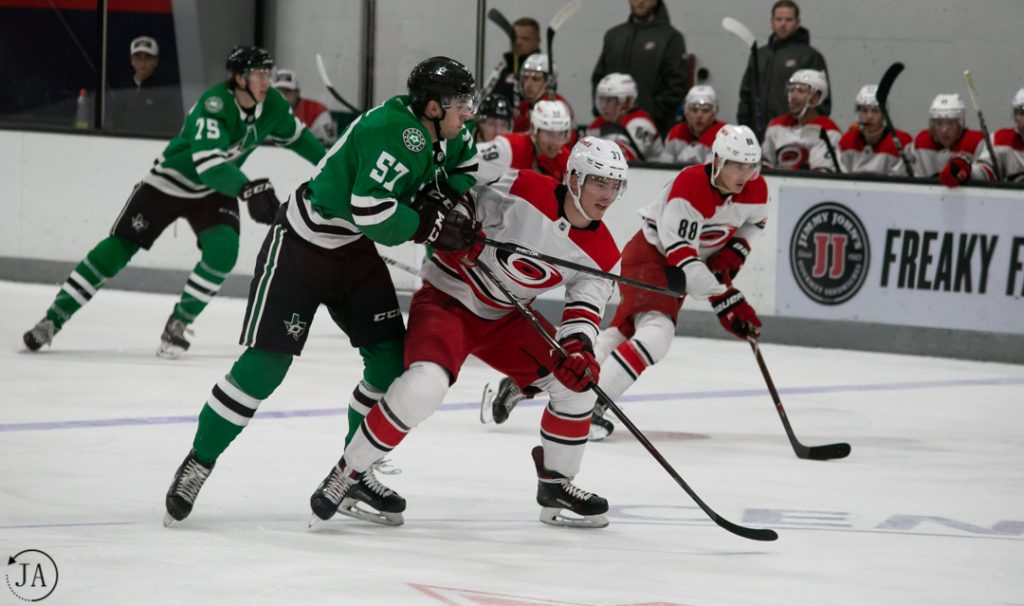 andrei svechnikov, carolina hurricanes, nhl prospect tournament, dallas stars