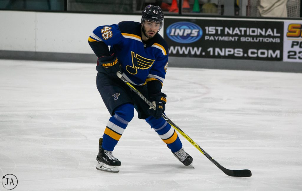 jake walman, nhl prospect tournament, st. louis blues, ice hockey, hockey