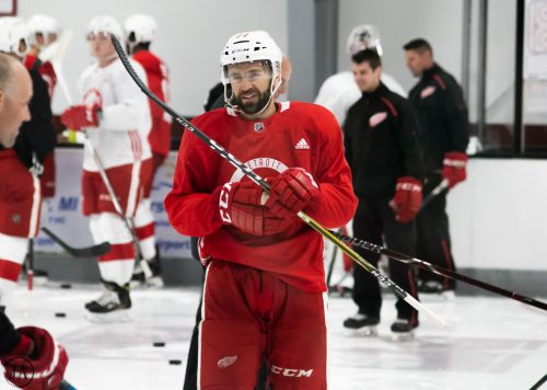 matt ford, grand rapids griffins, detroit red wings, training camp