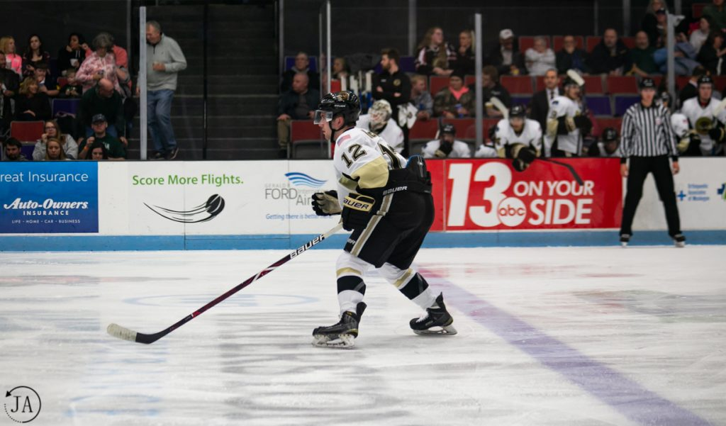James McIsaac, Muskegon Lumberjacks, USHL