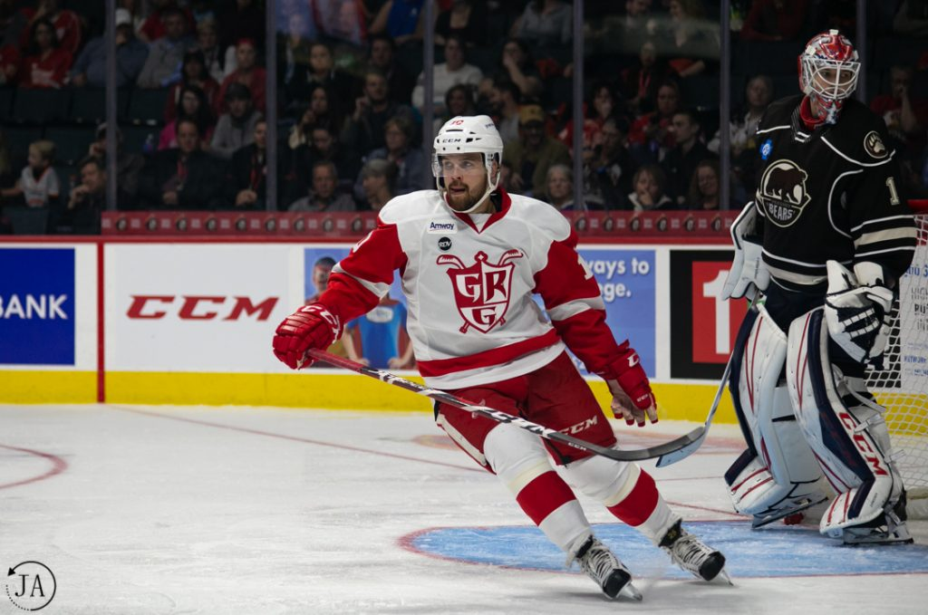 Axel Holmstrom, Grand Rapids Griffins, AHL