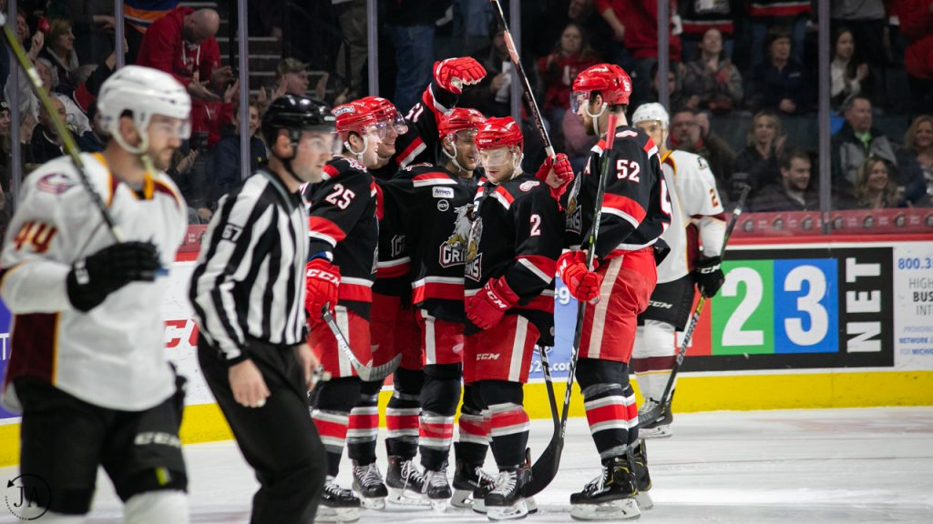 Chris Terry, Joe Hicketts, Dylan McIlrath, Grand Rapids Griffins, Detroit Red Wings, NHL, AHL